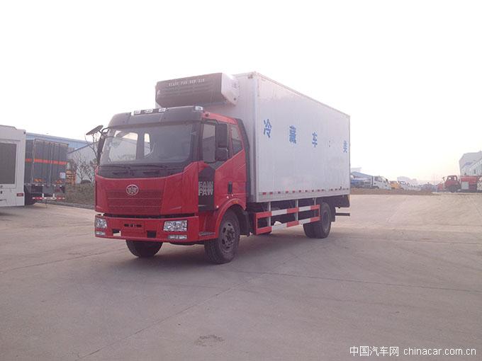 一汽解放J6冷藏车底盘型号:CA1160P62K1L3A1E4,底盘名称:一高清图片