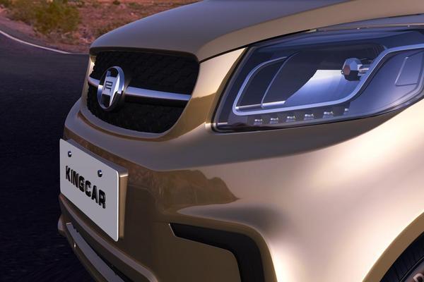 宏瑞Kingcar金开获2016小型电动汽车行业十大创新车型高清图片