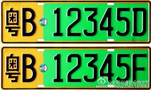 自愿换领新能源汽车号牌高清图片