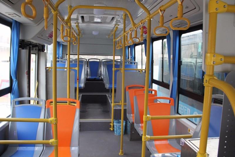 陕西礼泉启用比亚迪K7打造西北首个公交全面电动化县高清图片