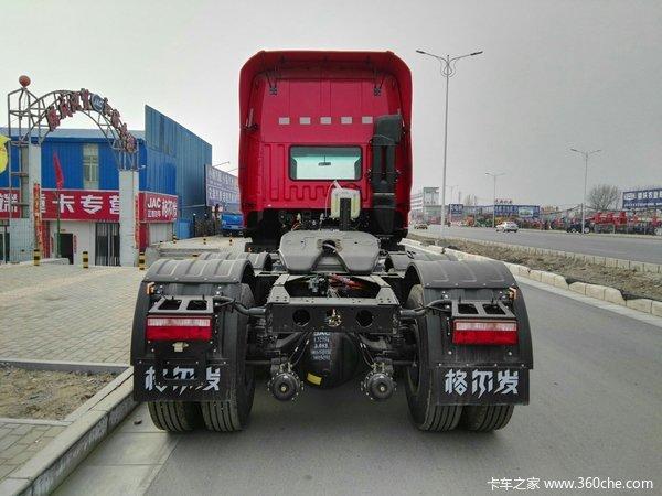 车型名称 江淮 格尔发k5重卡 460马力 6x4牵引车 车型公告号 hfc4251
