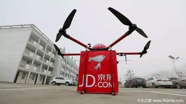 京東推超級無人機載重數噸續航300公里圖片