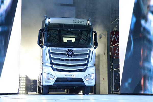 福田戴姆勒发力供给侧 欧曼est超级卡车开启高端物流新格局图片