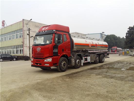 铝合金运油车携绝对优势横扫油罐车市场