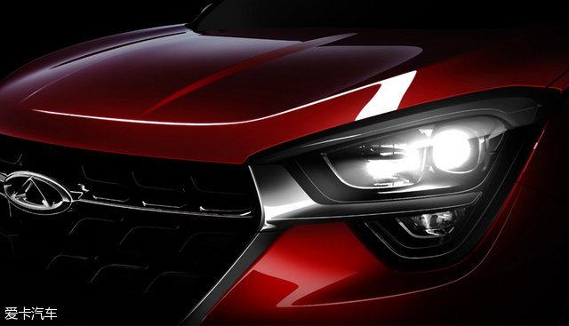 奇瑞全新瑞虎5预告图发布上海车展首发高清图片