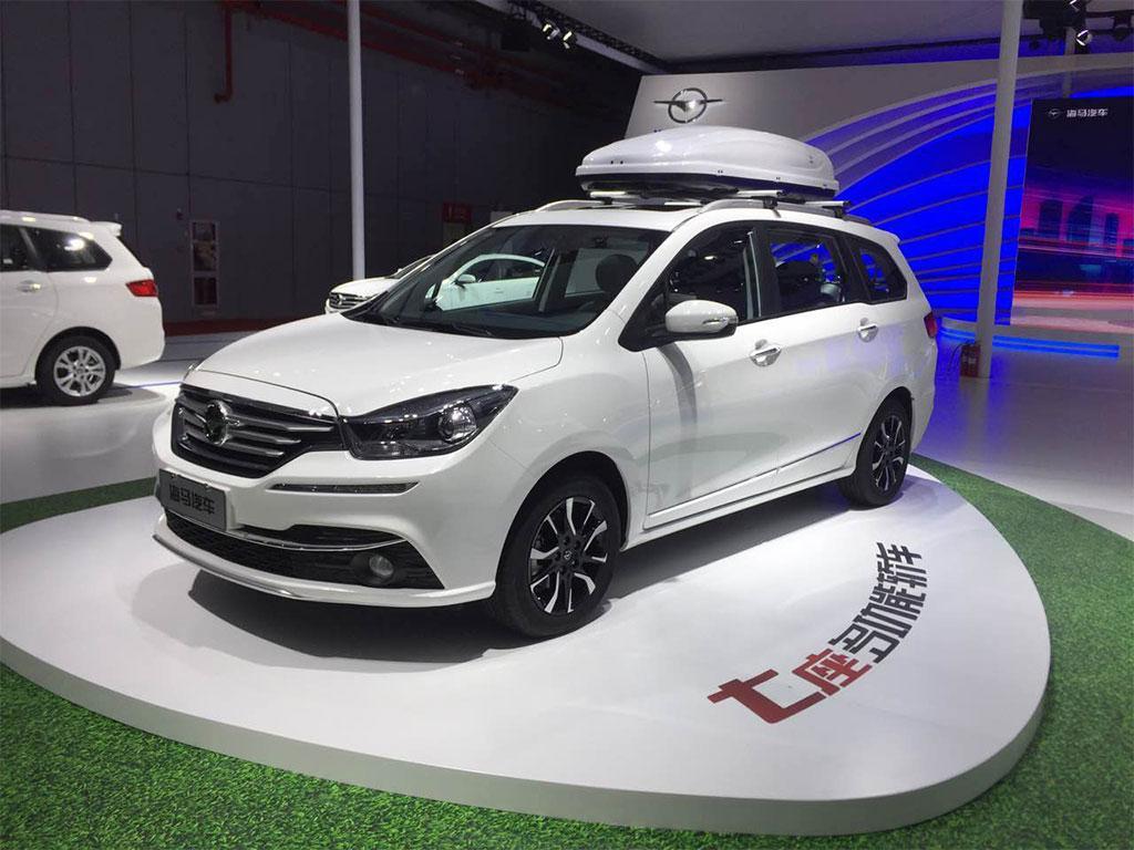 七座MPV海马发布全新福美来MPV车型高清图片