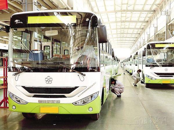 拥有新能源客车整车及配套系统全产业链制造能力.2016年全年销售