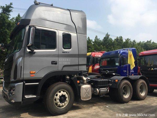 江淮 格尔发k5w重卡 轻量化版 480马力 6x4牵引车装配高顶驾驶室,动力