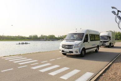 顺义水上公园启动示范运营 近距离体验福田汽车自动驾驶