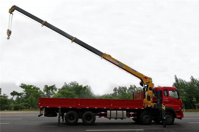 东风天龙前四后八徐工16吨随车吊吊机展示