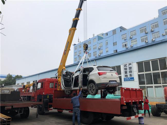 180马力D3随车吊配10吨8吨整车不超重