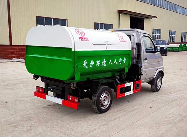 湖北随州福田牌车厢可卸式垃圾车厂家直销电话价格 - 中国供应商