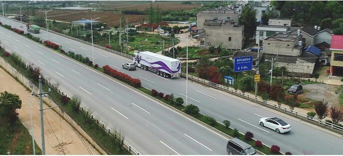 嬴彻科技携手湘江智能,加速货运自动驾驶路测