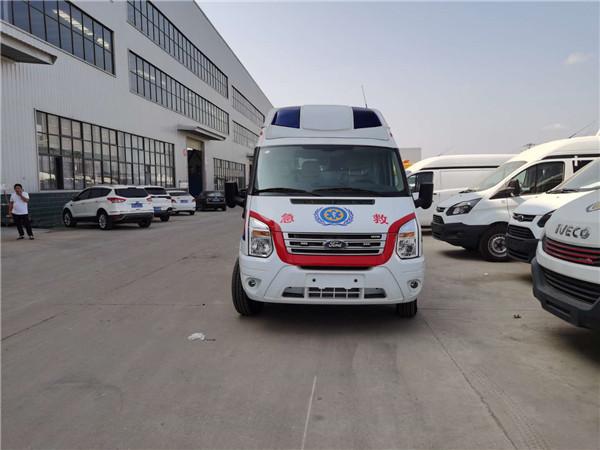 全国知名的福特救护车品牌有哪些―国六江铃福特新全顺救护车厂家报价多少?