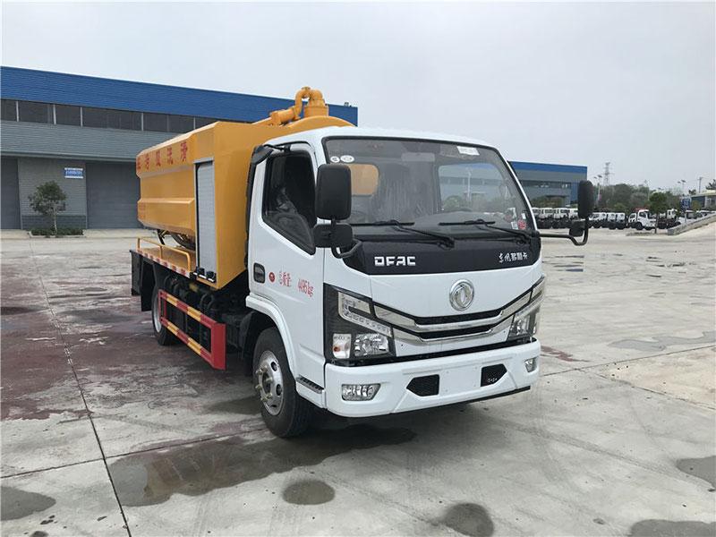 国六东风小多利卡5方清洗吸污车厂家推荐车型