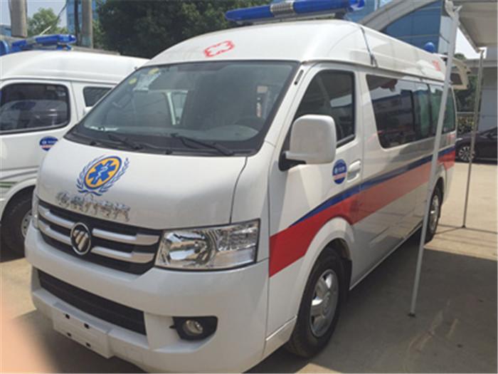 福田风景G7救护车怎么样?