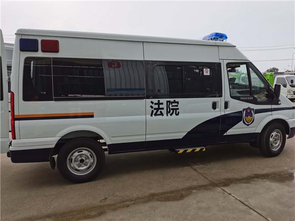 福特囚车11座_福特V348长轴法院囚车厂家报价_福特警用囚车改装厂家标准