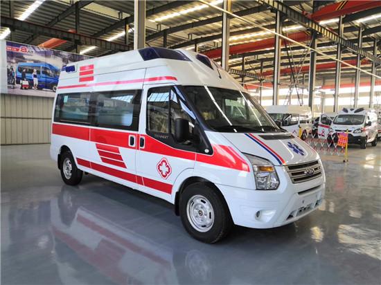 福特V348救护车厂家_专业的120救护车厂家