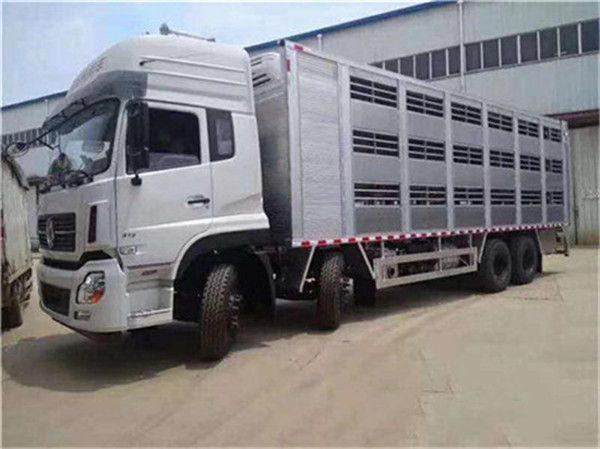 东风猪苗车 7.4米畜禽运输车厂家批发