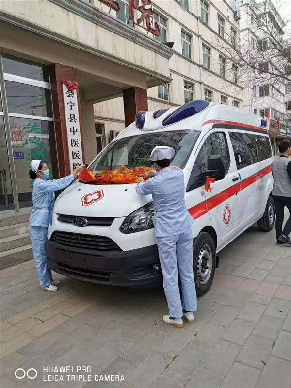 国六救护车价格 福特救护车报价及图片 江铃福特全顺急救车配置大全