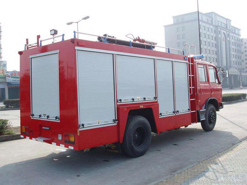 东风天锦6吨泡沫消防车