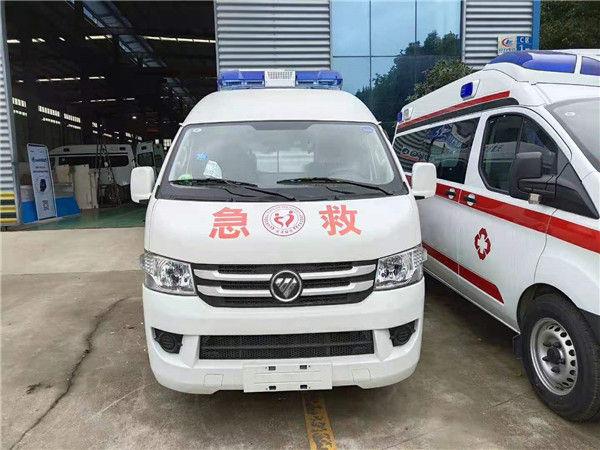 程力救护车厂家批发-福田品牌救护车打折出售