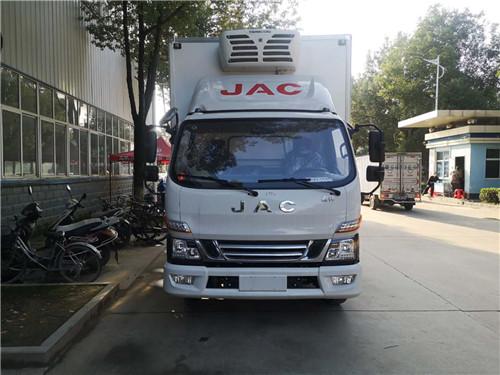 国六江淮骏铃V6云内150马力冷藏车现车库存车厂家促销