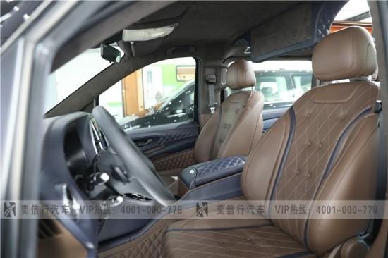 衢州 奔驰改装威霆房车VS880 授权工厂直营店优惠报价 价格39万起