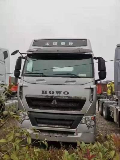 豪沃牵引车540标重版,液力缓速器,巴西银