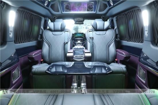 宁波 慈溪 奔驰V级房车 空气悬挂底盘 黑金星辉代理双拼 2020款V260房车报价