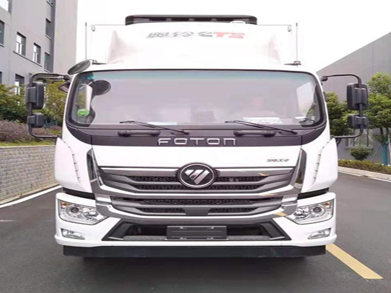 国六福田奥铃CTS9畜禽运输车厂家价位适中品质优良