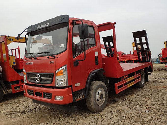 大运征途平板运输车厂家推荐车型报价