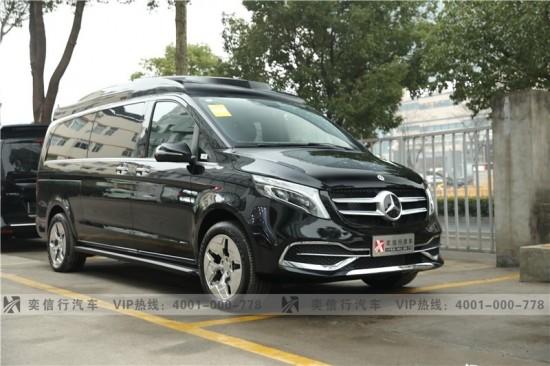杭州 2021奔驰V级房车新款价格行情 9速4轮空气悬挂 V260房车报价