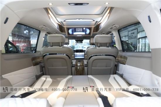 江西 南昌奔驰房车V级打造 2020新款V260房车9速4轮空悬底盘 新车报价