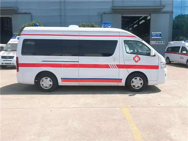 福田G9救护车价格 依维柯救护车配置大全 江铃福特急救车直销热线