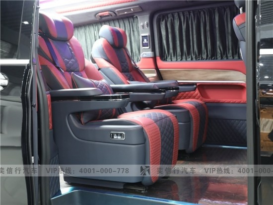 杭州 临安 奔驰V级房车工厂直销 7座高顶半隔断 V260改装房车优惠报价 75万起售