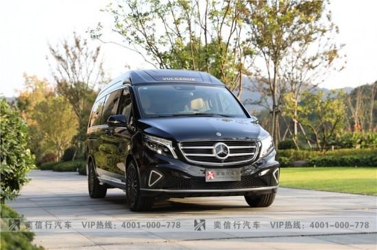 台州 天台 2021款奔驰V级房车优惠报价 维努斯豪华版4座 V260房车厂家直销