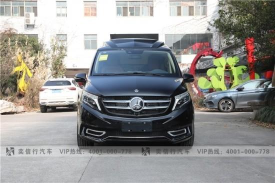 宁波 余姚 2021新款奔驰改装商务车 V260房车 工厂直销报价 优惠5-20万