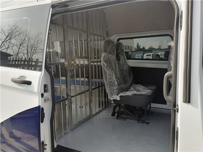 囚车报价_福特V348囚车_公安囚车新标准_11-15人座