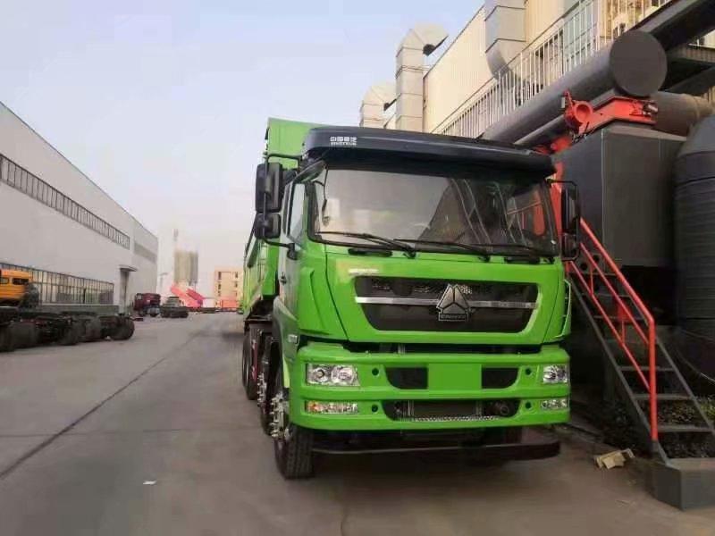 斯太尔 D7W5.6米自卸车