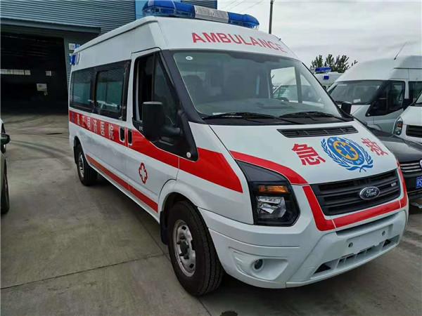 福特V362负压救护车直销价格-程力救护车厂家购车直降5000
