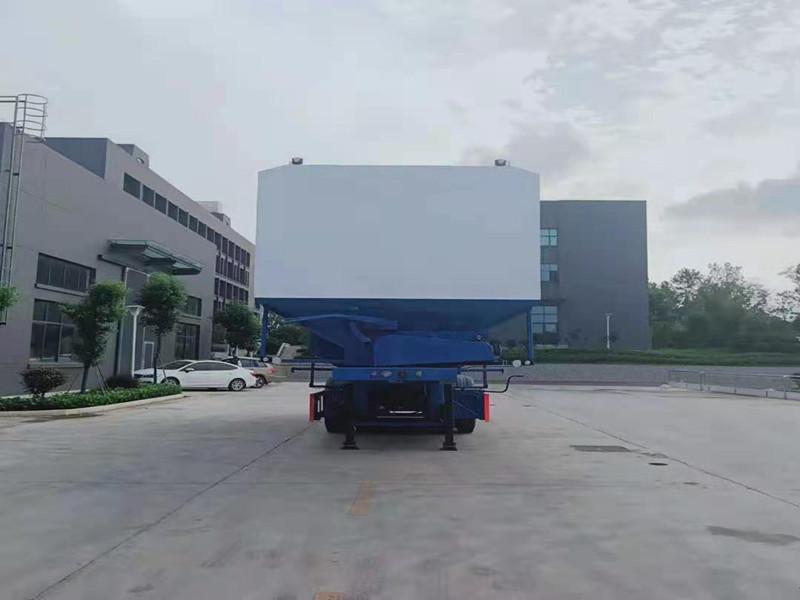 40方散装饲料运输车|55方半挂散装饲料运输车|60散装饲料运输车|散装饲料运输车报价