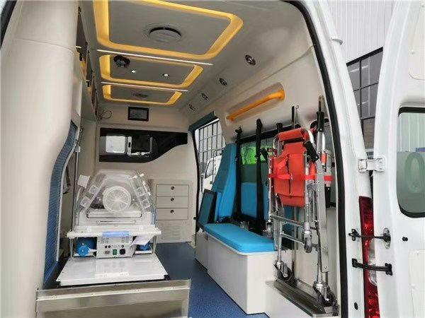 国六福特负压救护车价格及图片 V362监护型急救车厂家优惠出厂价格