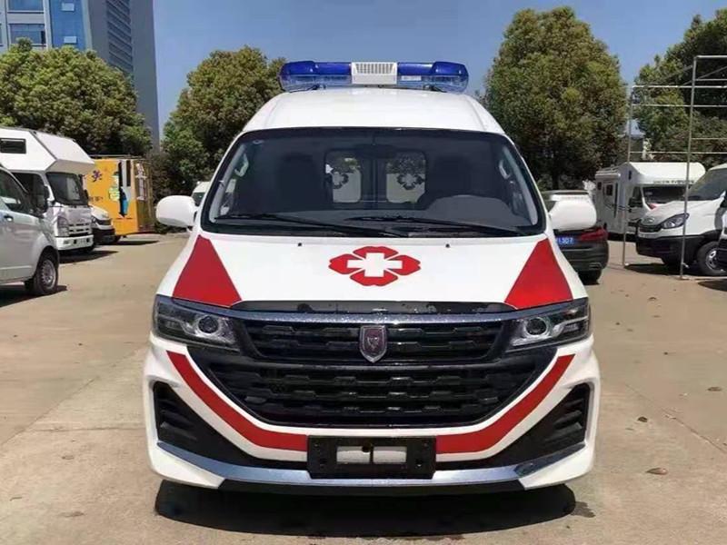 国六金杯海狮王运输型救护车
