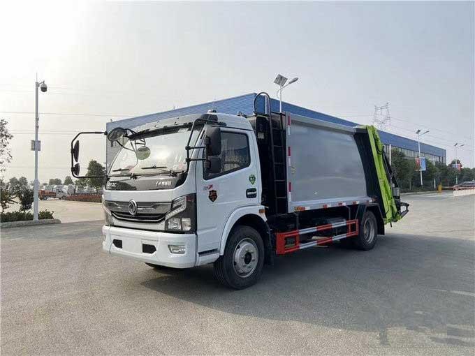 东风国六8方压缩垃圾车厂家推荐车型报价