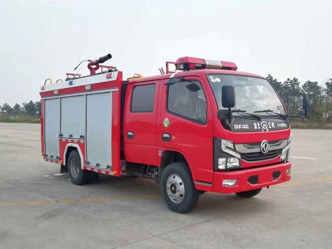 国六东风2-3吨泡沫消防车报价