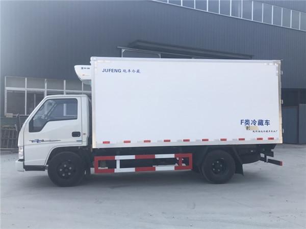 江铃4.2米冷藏车厂家直销售价多少 厢长4米2冷藏冷冻车最低售价热销