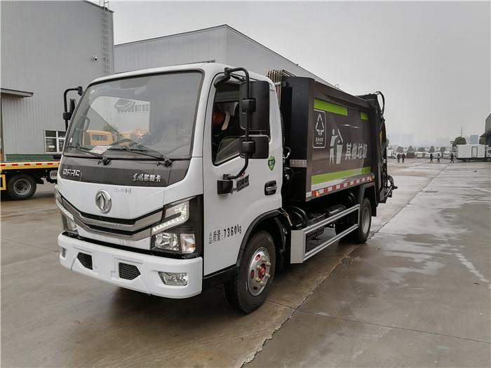 4方压缩式垃圾车价格_东风天锦12方压缩垃圾车_分期买车更快捷