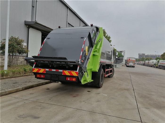 4方压缩式垃圾车价格_东风蓝牌压缩垃圾车_分期买车更快捷