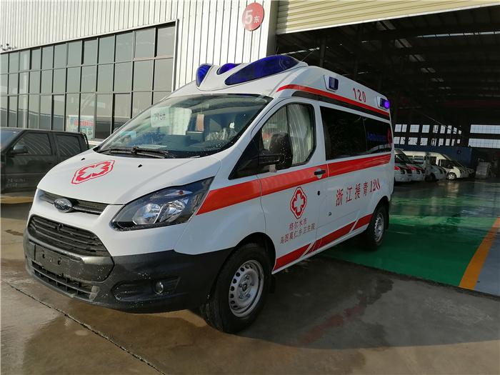 福特V348救护车_监护型救护车_价格